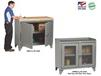 "48"" WIDE COUNTER HEIGHT BENCH CABINETS"