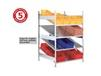 META CLIP S3 GRAVITY FED SHELF RACK