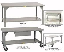 EXTRA HEAVY DUTY WELDED WORKBENCHES